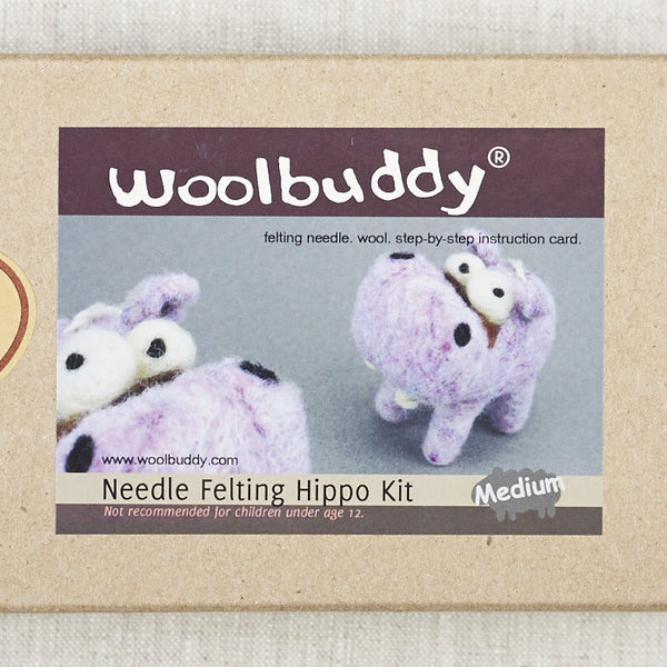 Hippo Needlefelting Kit