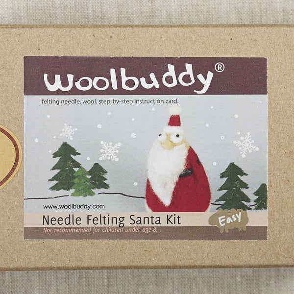 Santa Needlefelting Kit