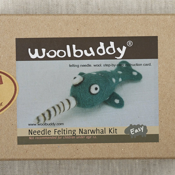 Narwhal Needlefelting Kit