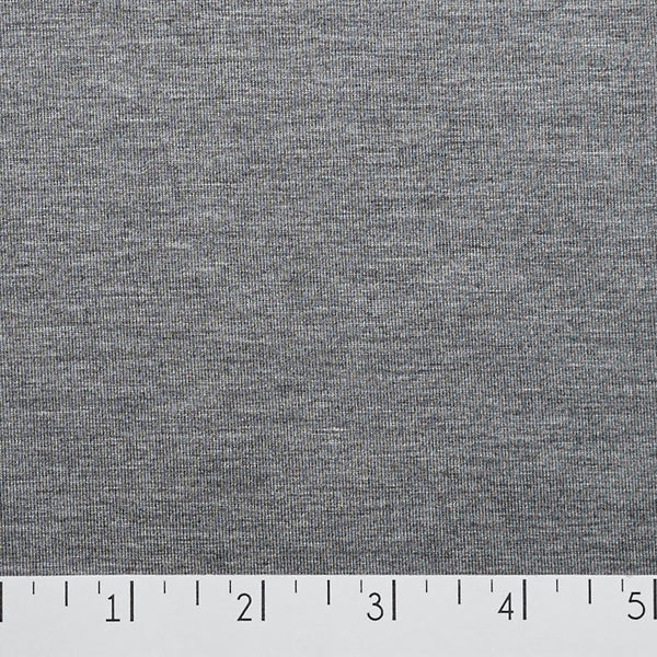 Bamboo Jersey Heather Grey
