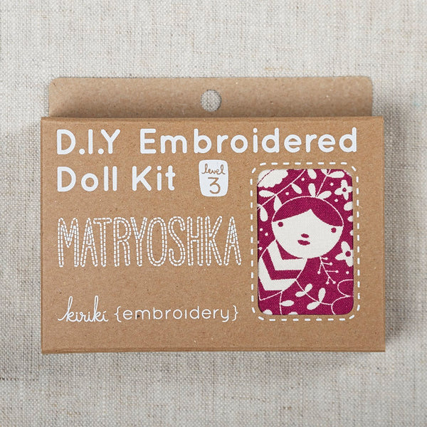 Matryoshka Embroidered Doll Kit