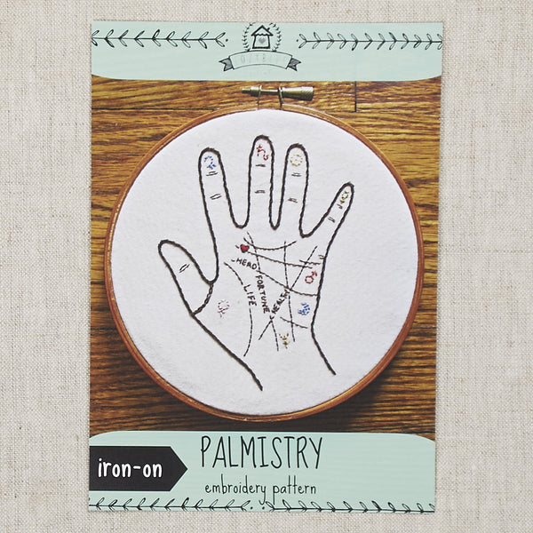 Palmistry Embroidery Pattern