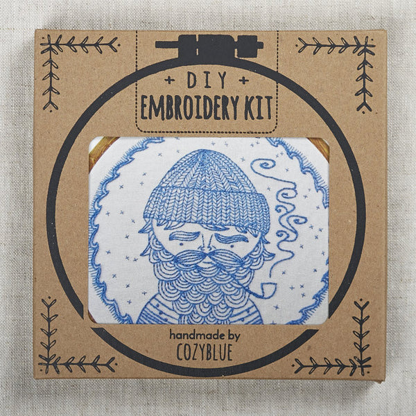 Sea Captain Embroidery Kit