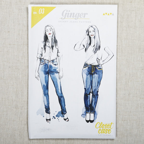 Ginger Jeans Pattern