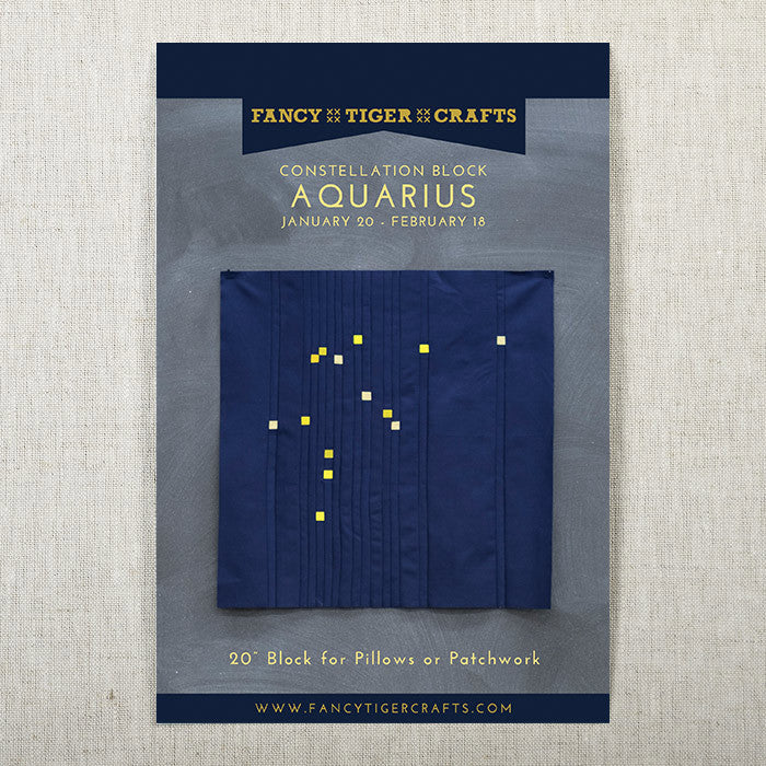 Aquarius Constellation Block