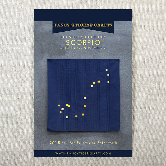 Scorpio Constellation Block