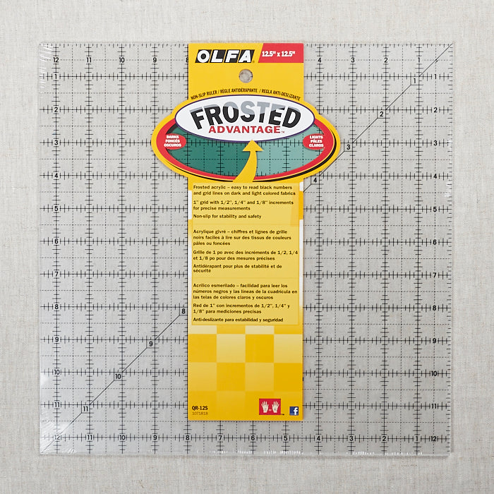 "Quilting Ruler 12.5"" x 12.5"""