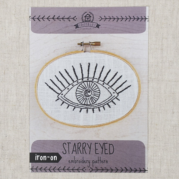 Starry Eyed Embroidery Pattern