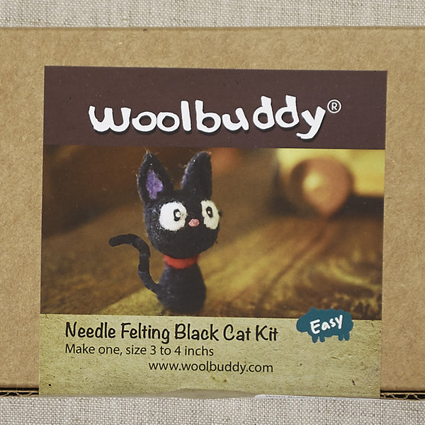 Black Cat Needlefelting Kit