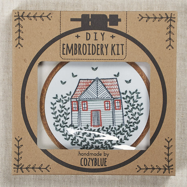Homegrown Embroidery Kit