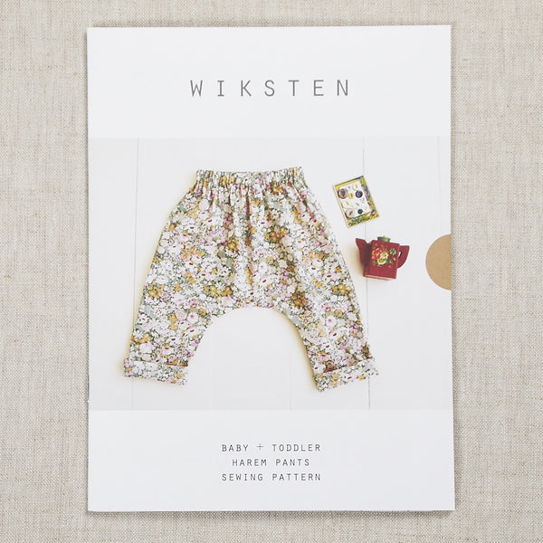Baby + Toddler Harem Pants Pattern