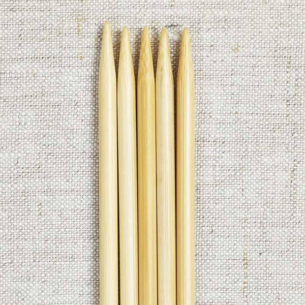 "ChiaoGoo 8"" Bamboo Double Point Needles"