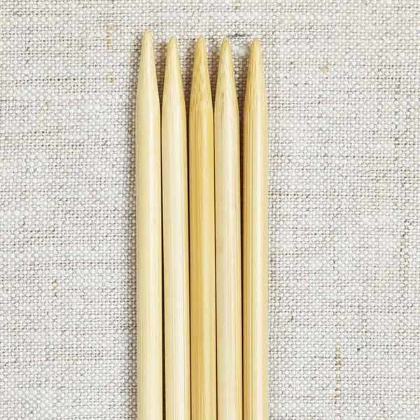 "ChiaoGoo 6"" Bamboo Double Point Needles"