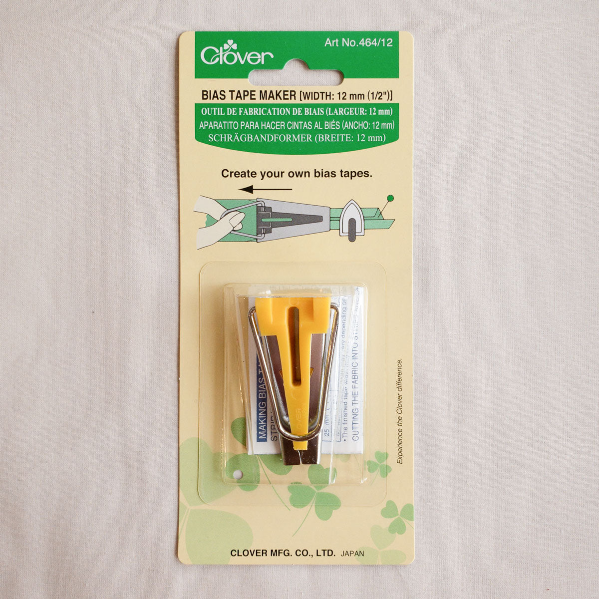 Clover Bias Tape Maker-1//2/""