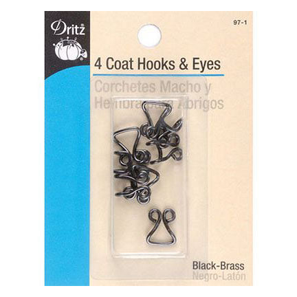 Dritz Coat Hooks and Eyes