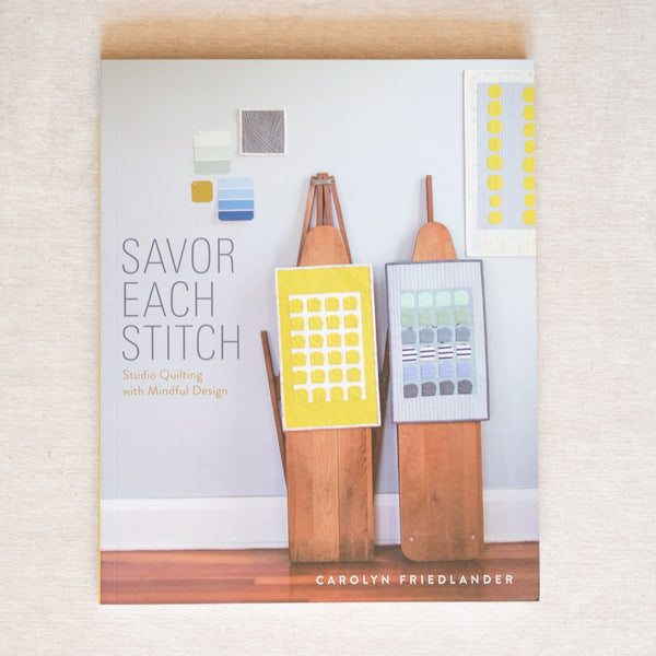 Savor Each Stitch