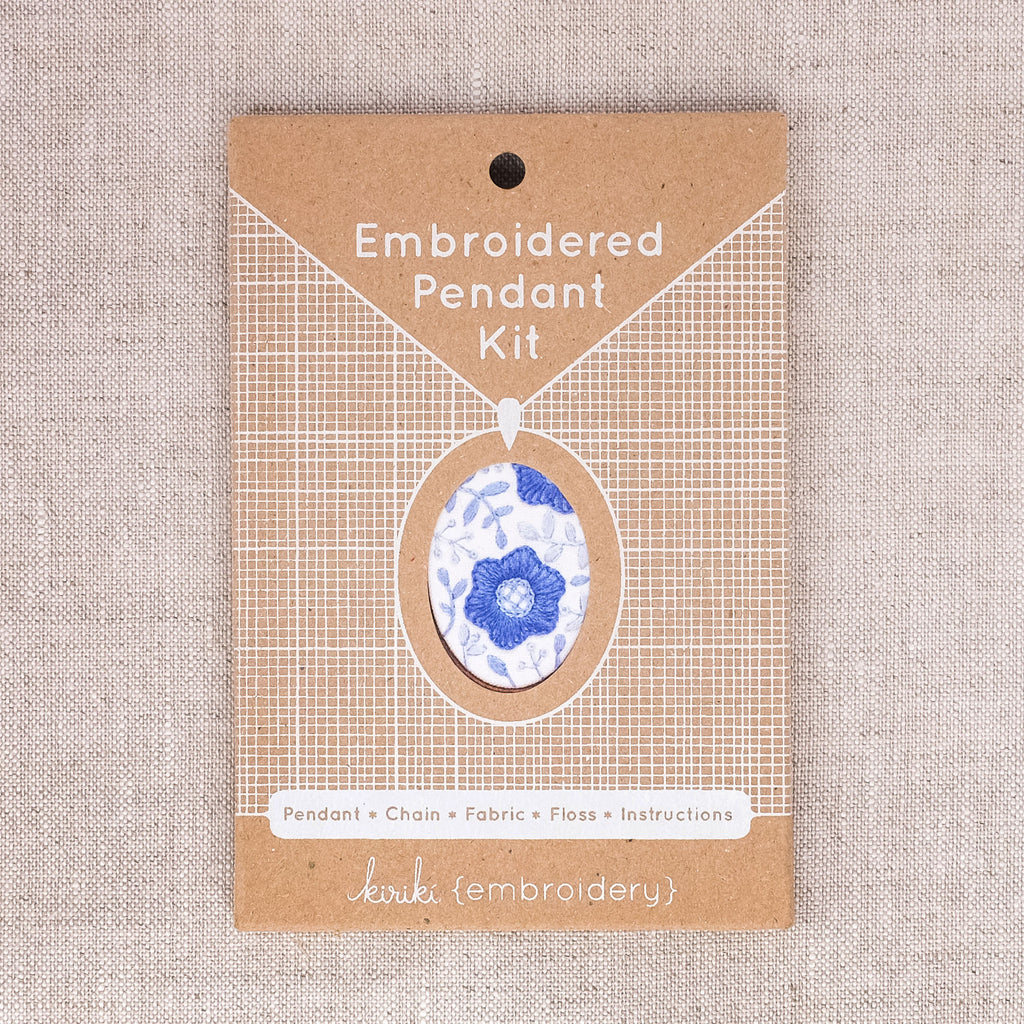 Embroidered Pendant Kits
