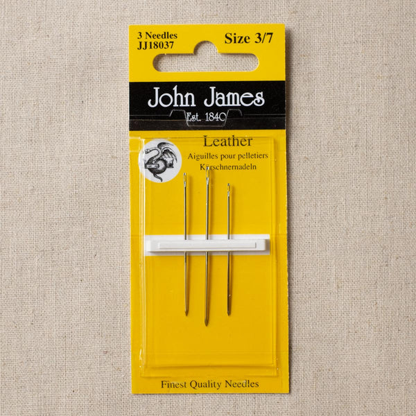 Leather Needles Size 3/7