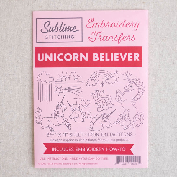 Unicorn Believer Embroidery Patterns