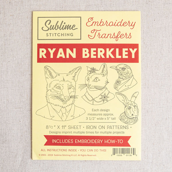 Ryan Berkley Embroidery Patterns