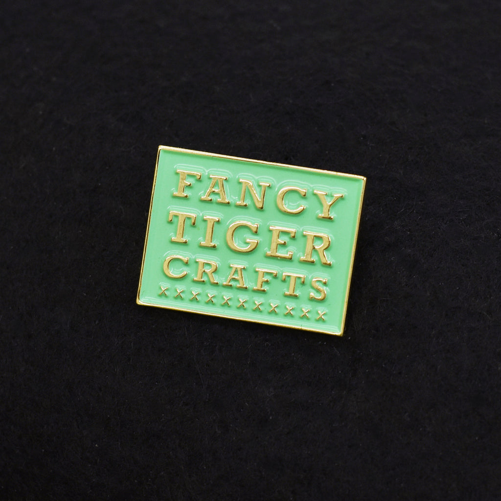 Fancy Tiger Crafts Enamel Pin