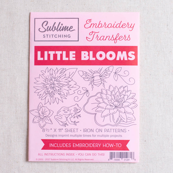Little Blooms Embroidery Patterns