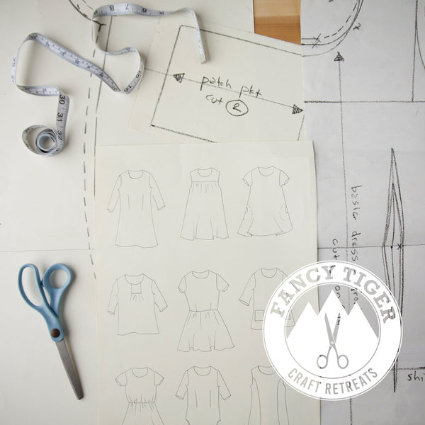 Pattern Drafting Retreat with Cal Patch