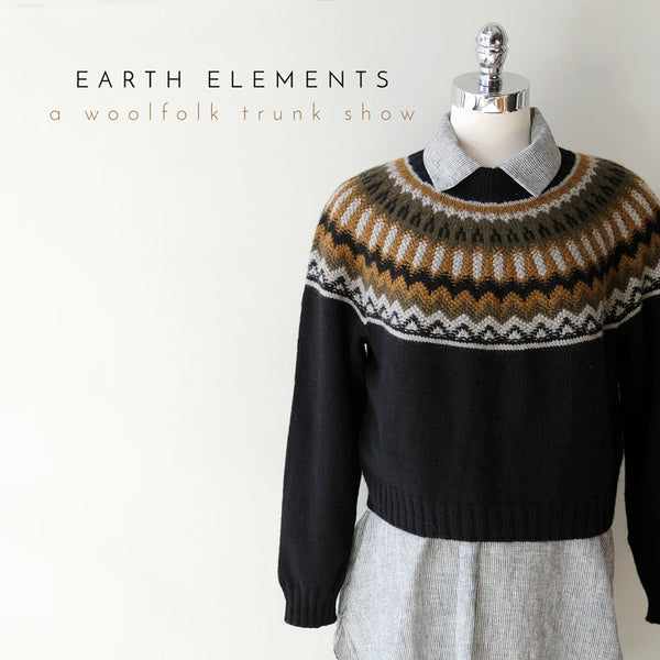 Woolfolk Earth Elements Trunk Show