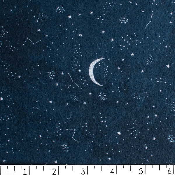 Crescent Moon Flannel