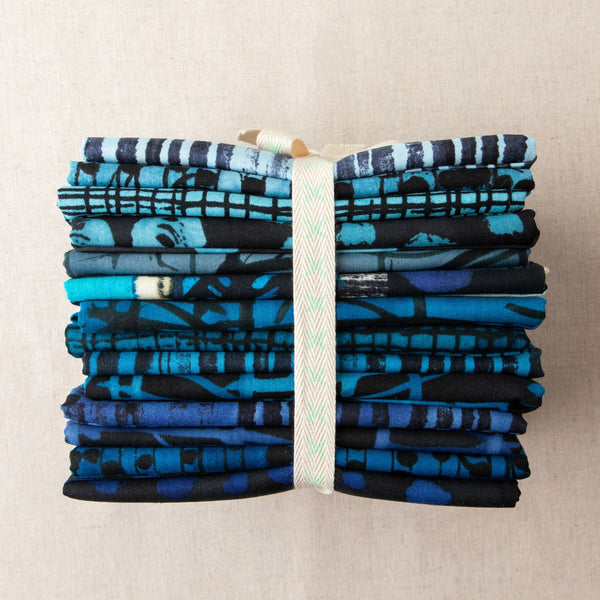 The Blue One 14pc Fat Quarter Bundle