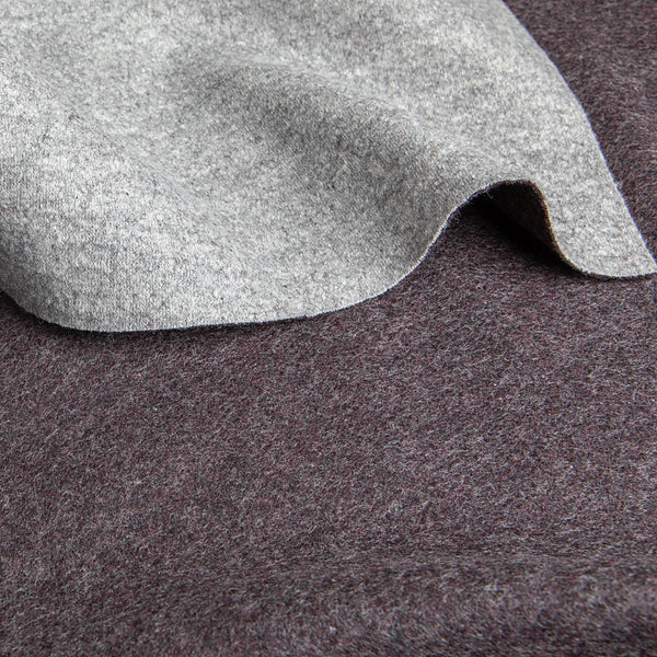 Italian Wool Cashmere Knit Coating
