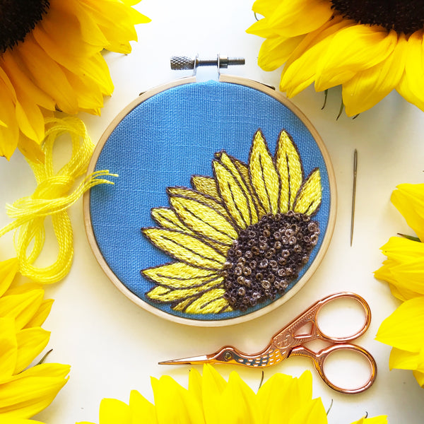 VIRTUAL Sunny Sunflower with Rosanna Diggs