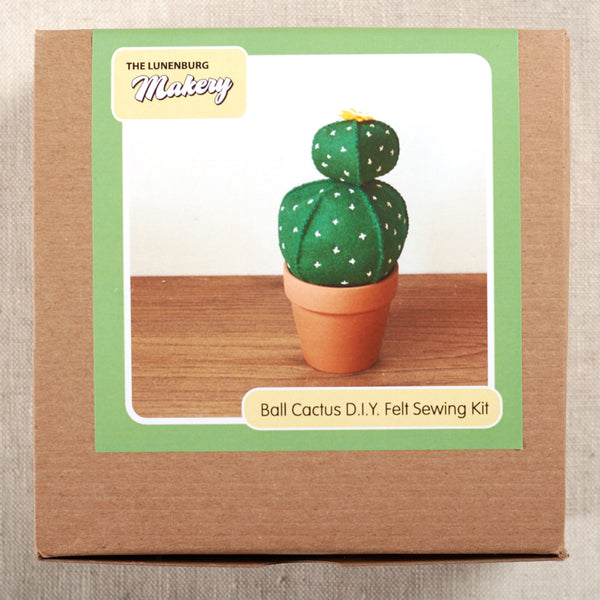 Ball Cactus DIY Felt Sewing Kit
