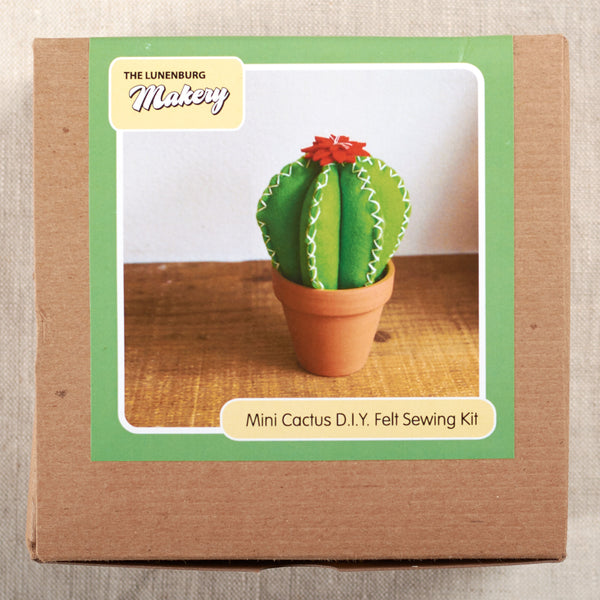 Mini Cactus DIY Felt Sewing Kit