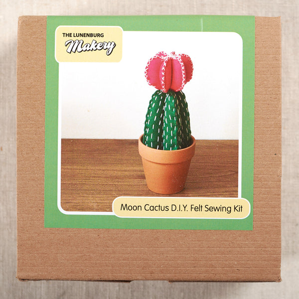 Moon Cactus DIY Felt Sewing Kit