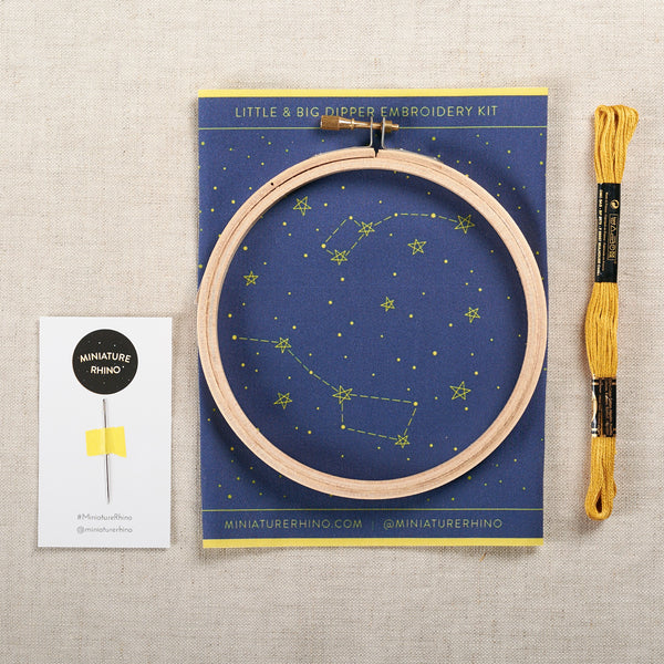 Little + Big Dipper Embroidery Kit