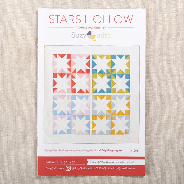 Stars Hollow Quilt Pattern