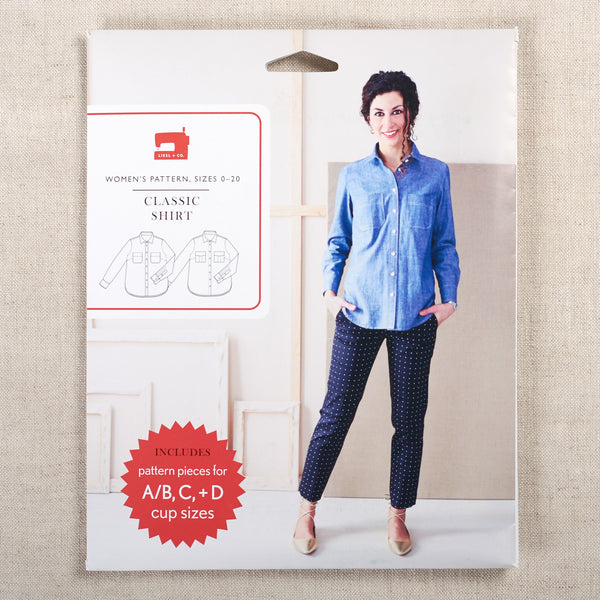 Classic Shirt Sewing Pattern
