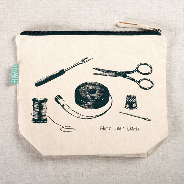Fancy Tiger Crafter's Pouch