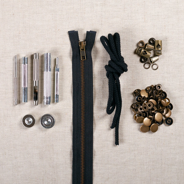 Kelly Anorak Hardware Kit