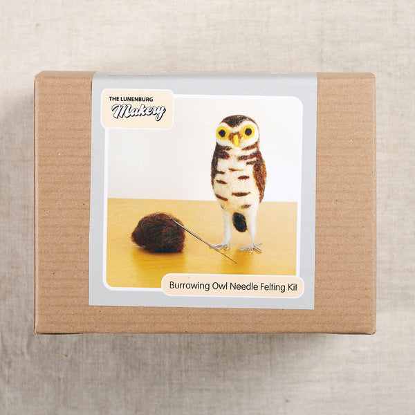 Burrowing Owl Needlefelting Kit
