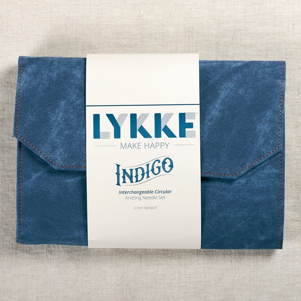Lykke Interchangeable Set Indigo 5""