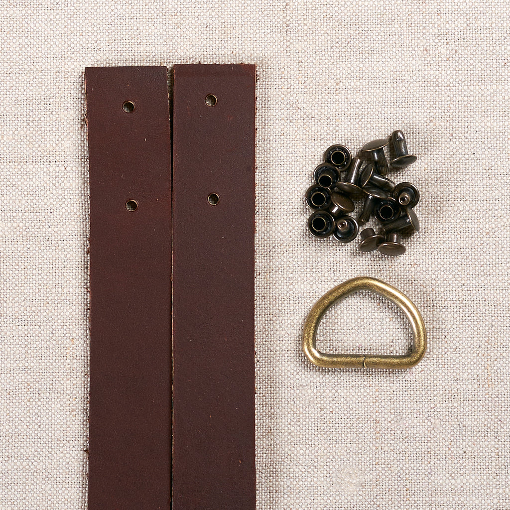 Leather Tote Straps Maker Kit