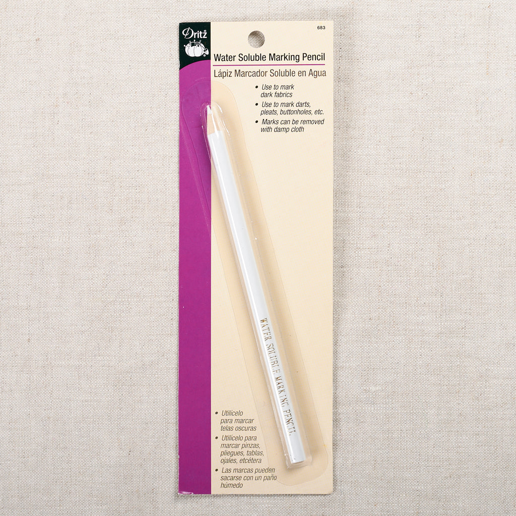 Water Soluble Marking Pencil — White