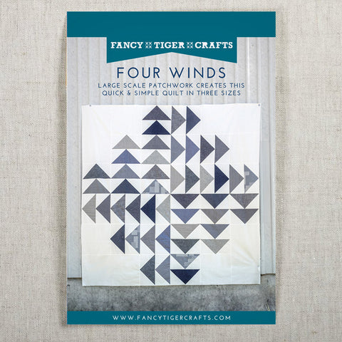 Jen's Striking/Simple Four Winds Quilt