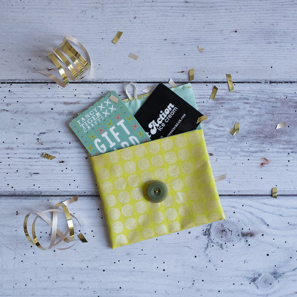 Sewing 101: Gift Card Envelope