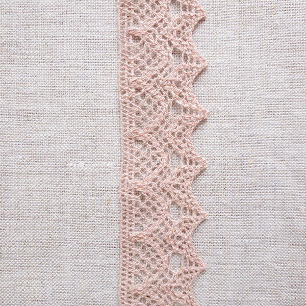 "1.25"" Heathered Lace Trim"
