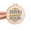 """Homo Sweet Homo"" Cross Stitch Kit"