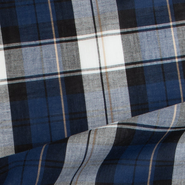 Sheer Cotton Plaid