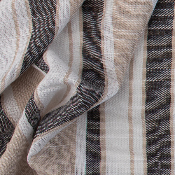 Neutral Rayon Stripe